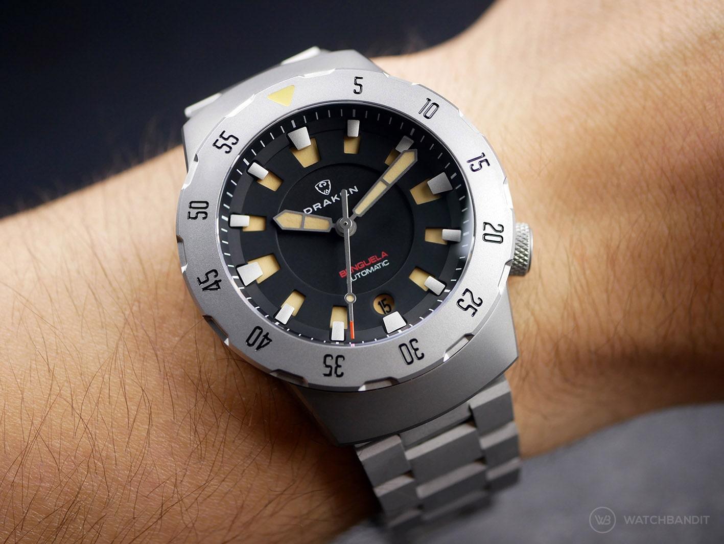 Draken Bengula Watch - Wrist shot