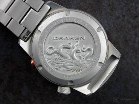 Draken Bengula Watch - case back