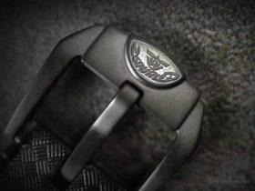 Squale-Luminoso Arancia PVD-buckle