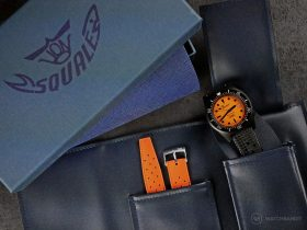Squale-Luminoso Arancia PVD-scope of deliverY