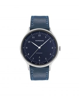 VANDAAG Primus Automatic steel-blue front