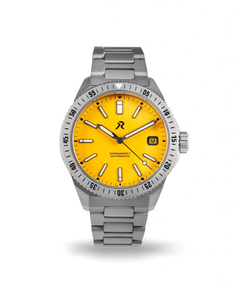 RZE - Endeavour - Medallion Yellow - Date