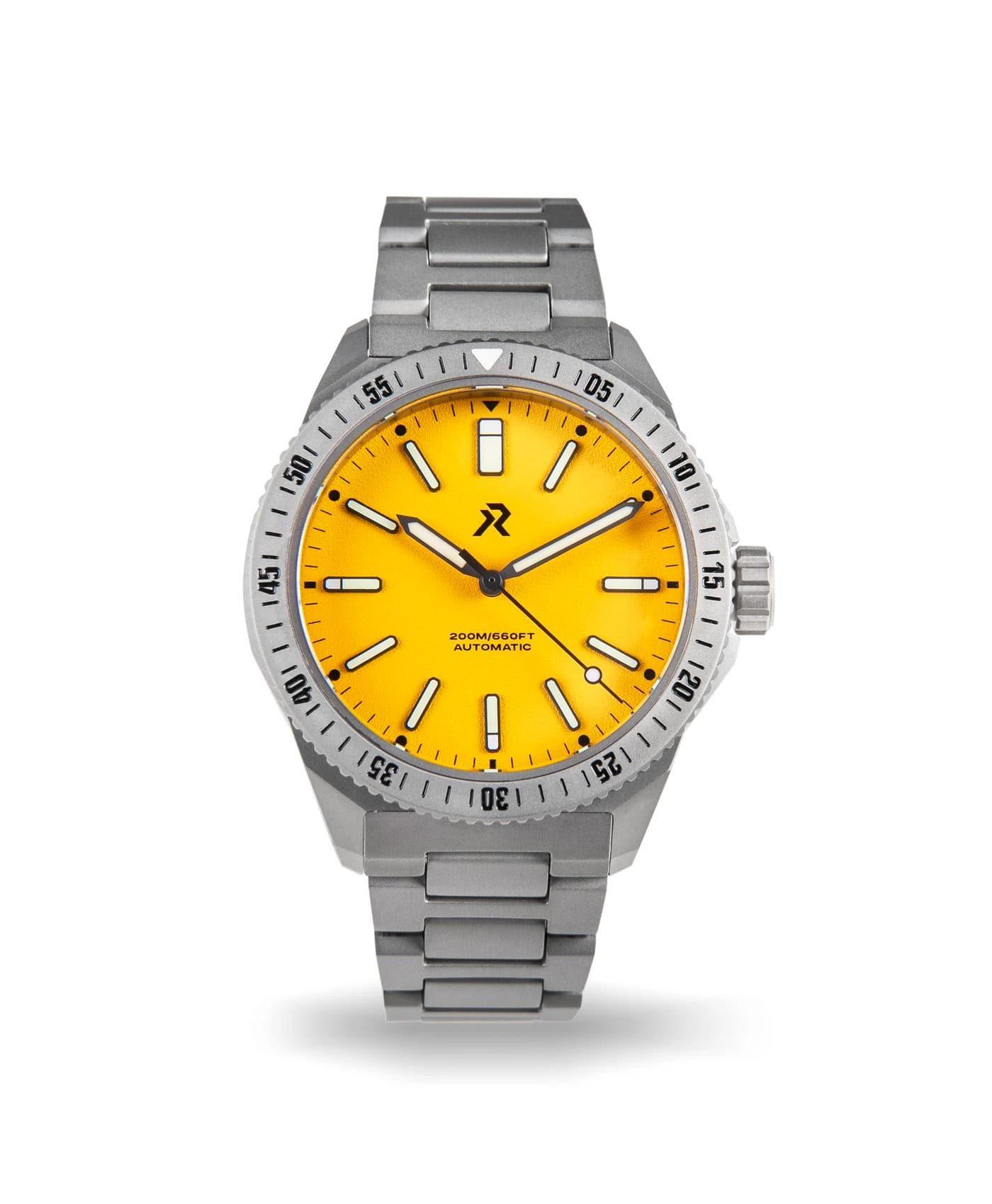 RZE - Endeavour - Medallion Yellow - front