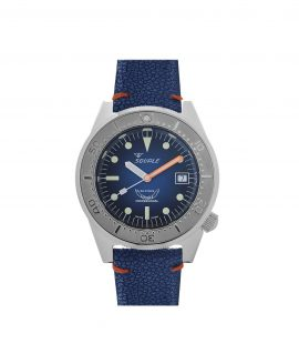 Squale 1521-026A blue ray front blue dial dive watch
