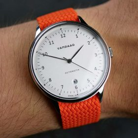Perlon Watch Strap – Orange