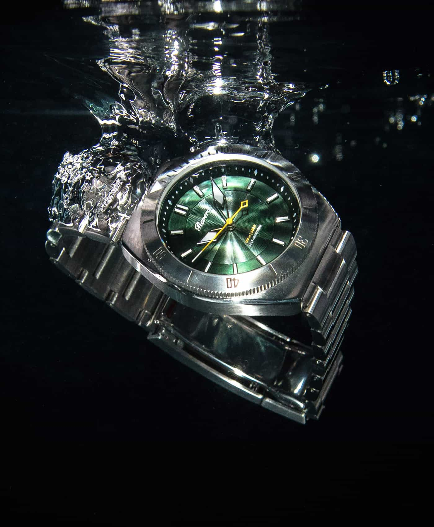 Reviere Diver Green-water drop