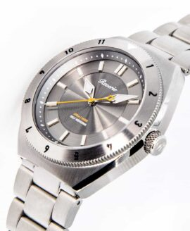 Reviere Diver Grey-12h bezel