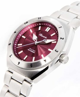 Reviere Diver Red-12h bezel