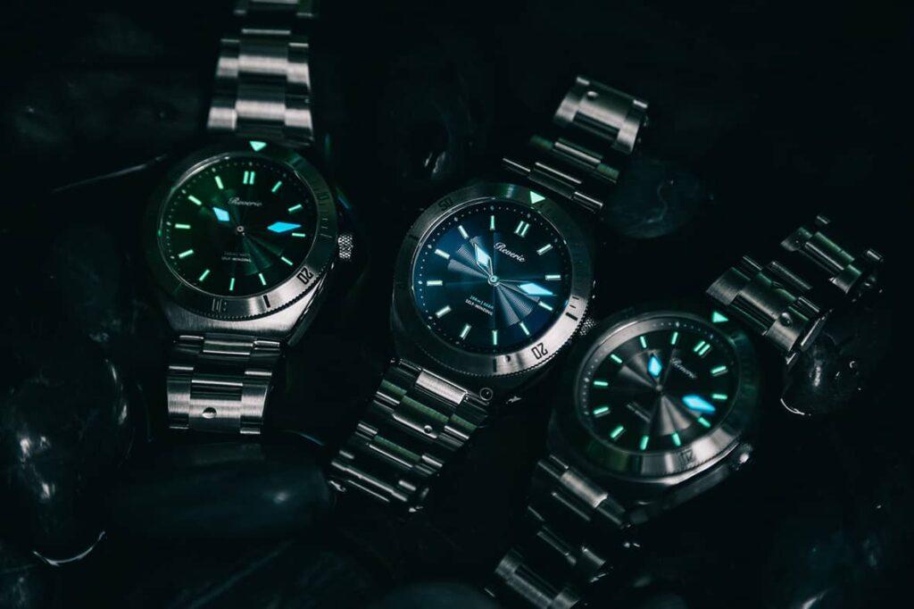 Reverie Diver collection lume shot