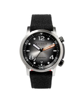 BASELE WATCHES_ Oceanmoon IV - Silver - front