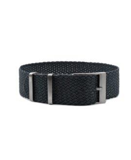 Watchbandit Premium Perlon Watch Strap - Dark Grey
