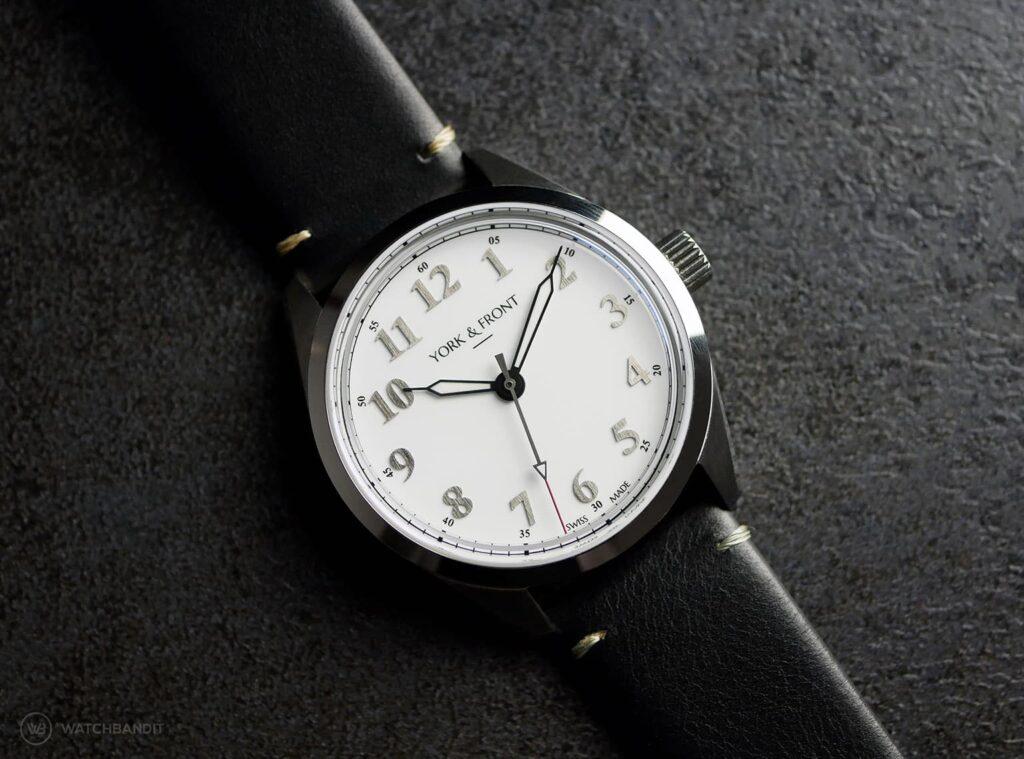 York & Front watches - Burrard - Series 1 - Bright White