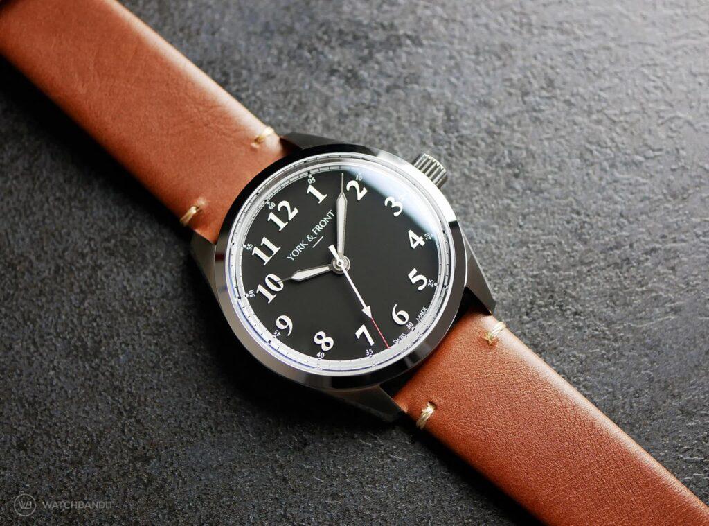 York & Front watches - Burrard - Series 1 - Matte Black