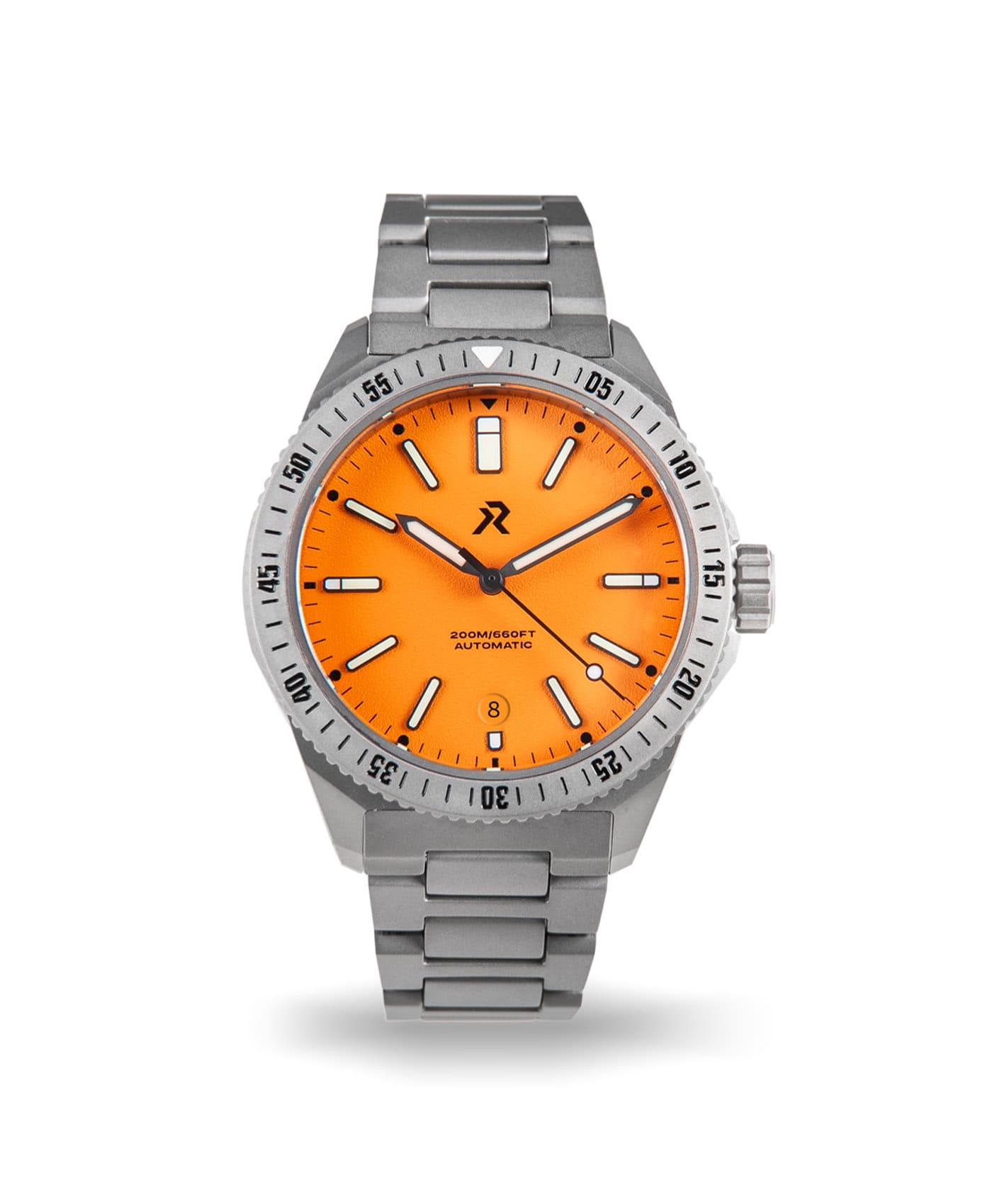 RZE - Endeavour - Rescue Orange - front date