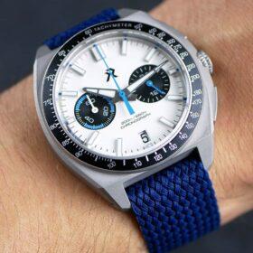 RZE Valour - Dark Blue Perlon strap